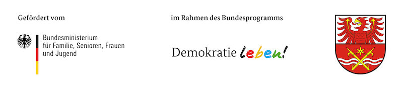 Banner Demokratie leben